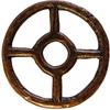Taranisovo kolečko: kříž