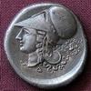 Korint, Statér s věncem