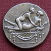 Stříbrný erotický žeton: III.