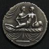 Stříbrný erotický žeton: IIII.