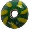 Zelený se žlutými pruhy