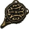 Bronzové spínání kaftanu II