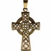 Bronzový keltský křížek