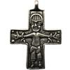 Stříbrný křížek z Birky
