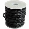 Pletené lakované řemínky