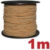 Semišový světlý řemínek: 2 mm