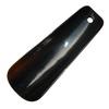 Černý rohový nazouvák 13 cm