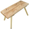 Táborová stolička: 95x40 cm
