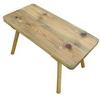 Táborový stoleček: 95x50 cm