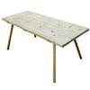Táborový stůl: 170x70 cm