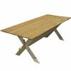 Táborový stůl: 200x90 cm