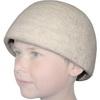 Bílá čepice pod přilbu