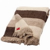 Velká jemná pruhovaná deka