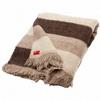 Jemná pruhovaná deka