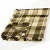 Hrubší vlněná deka černobílá