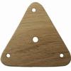 Dřevěná karetka: trojúhelník