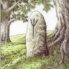 Plakát A4: Runa života v kameni